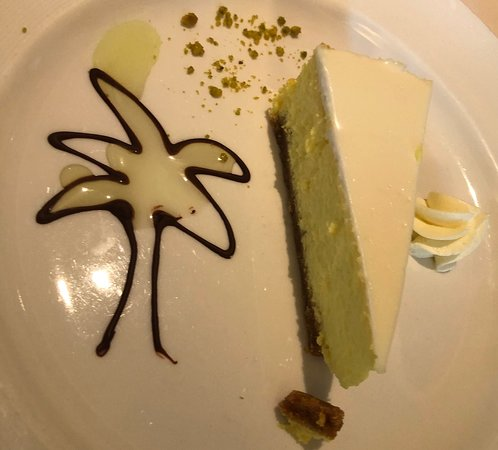 Grand Princess: Pineapple cheese cake.
