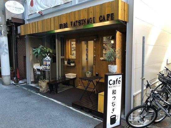 ウッドデッキがあり外カフェが楽しめます