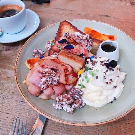 異國風味的早午餐