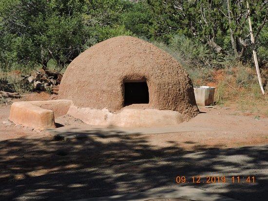 Jemez Pueblo, NM: Dwelling exhibit