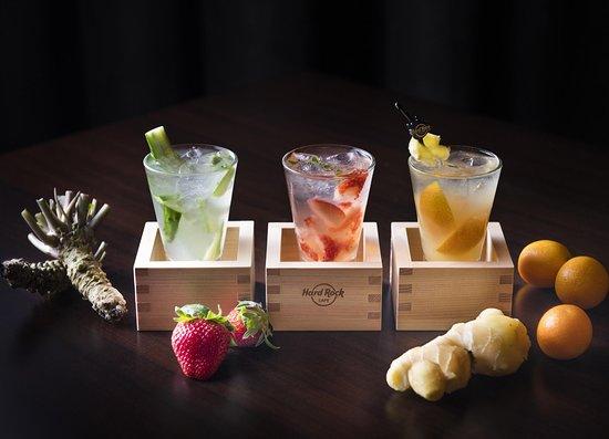 Japanese Sake Cocktails