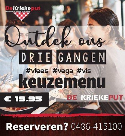 Herpen, Nederland: Jaaa ons 3 gangen menu is echt een aanrader! Lekker genieten voor een leuke prijs!