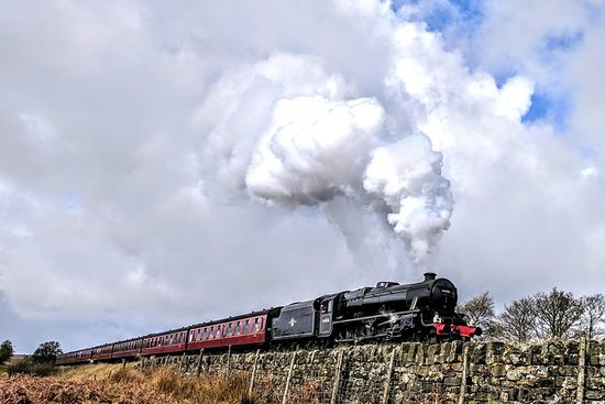 Steam Trains, Whitby, et la visite d'une journée des North York Moors...