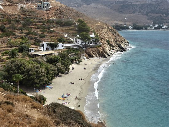 Levrossos Beach from the west