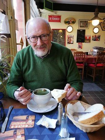 Heerlijk passend groen soepje voor lunch