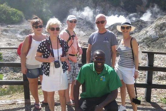 Trip to Soufiere: volcano, twin pitons...