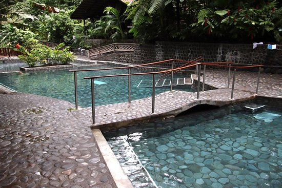 Bridge between pools