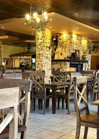 Argentina Restaurant: εσωτερικός χώρος