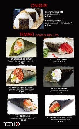 nuovo menu pricipale serate