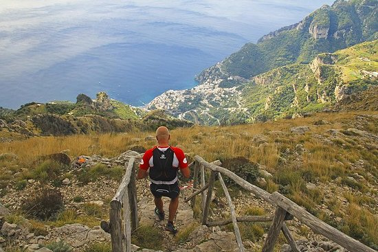 Randonnée sur le mont Faito au départ...
