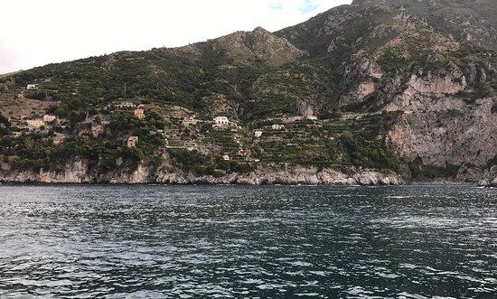 Ακτή Αμάλφι, Ιταλία: Multiple terraces and a few homes