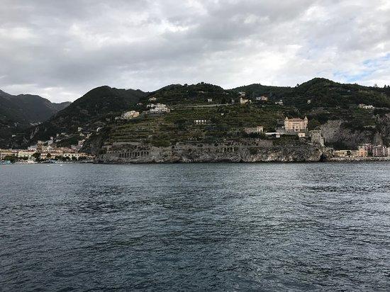 Ακτή Αμάλφι, Ιταλία: Agriculture on terraces