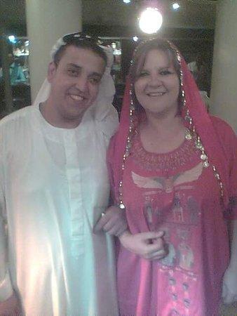 Регион Асуан, Египет: galabia party