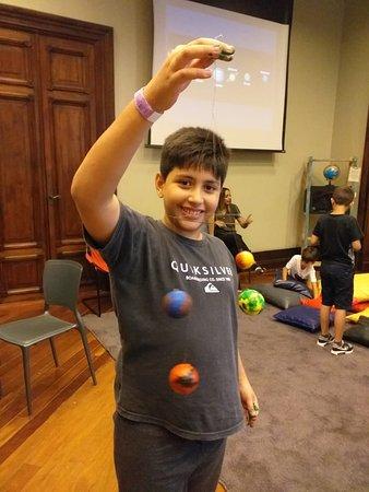 Fazendo mobili de planetas