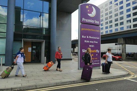 Transfert privé: de l'aéroport de Gatwick au port / hôtel de...