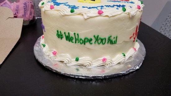 The Kakery: Hashtag Cake Side