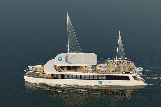 The Halong Catamaran - Luxury Day...