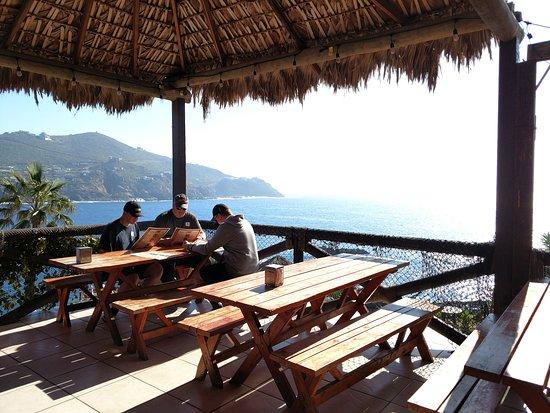 Carnival Miracle : Amazing hidden restaurant near La Bufadora