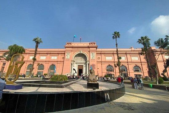 Privat tur til det egyptiske museet...