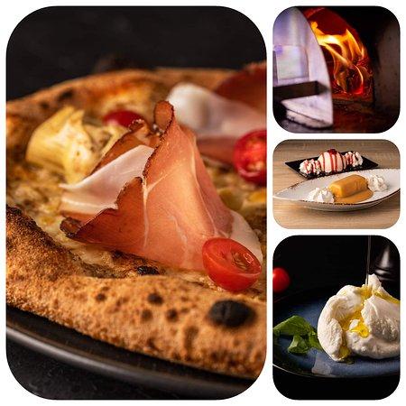Cers, Франция: Pizze Artisanales au Feu de Bois, desserts maison, produits sélectionnés