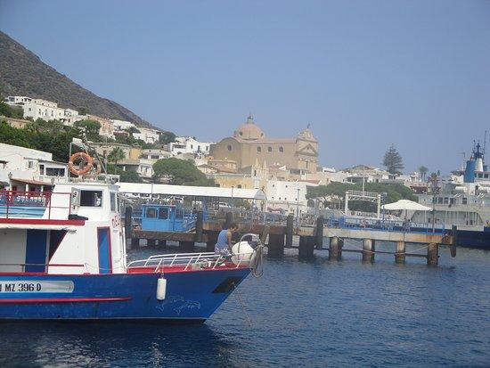 S. Marina Salina dal mare