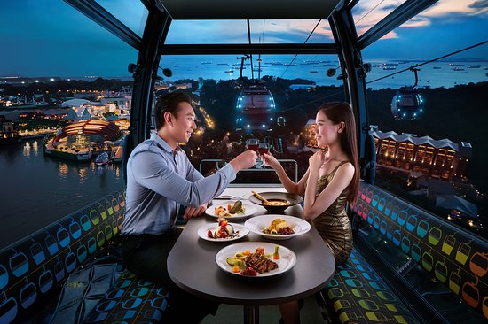 Cable Car Sky Dining - Stardust Cabin (Official)