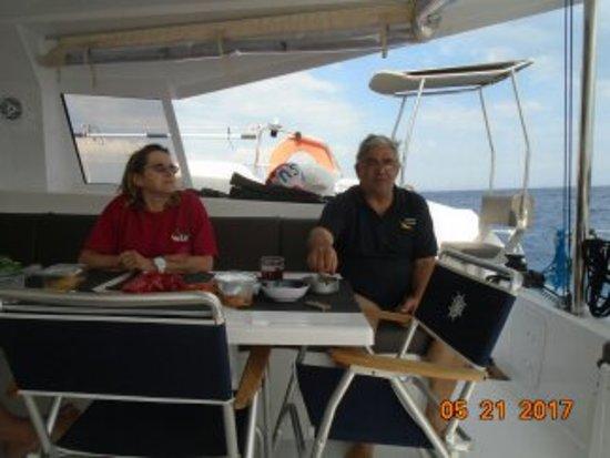 Αθήνα, Ελλάδα: ...και με τον καπετάνιο μας !