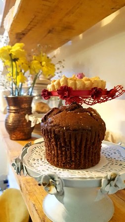 Homemade Chocolate Cupcake