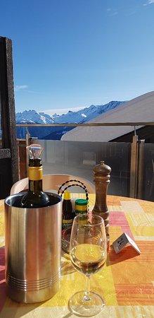 Bettmeralp, Schweiz: Restaurant Lusa