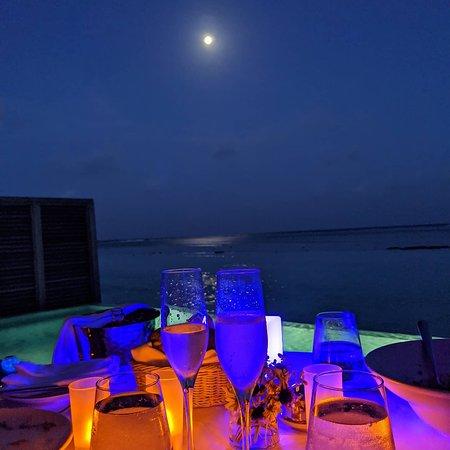 In villa private dining (add on)