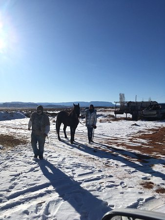 Monument Valley, UT: The right horse... thank you Kevin!!
