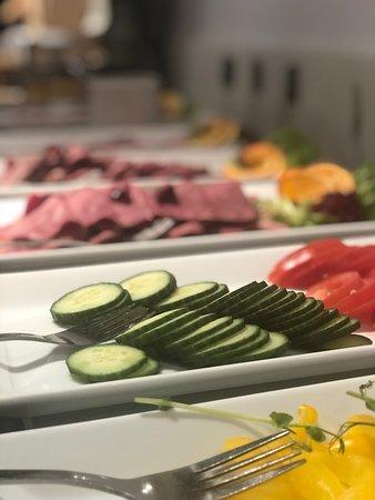 Alvesta, Suecia: Frukostbuffe på Rådmannen
