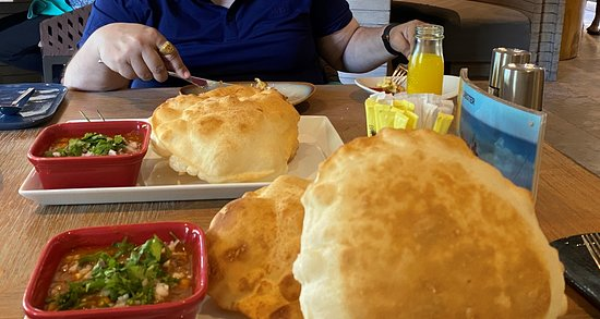 one of the best chole bhature  by Executive Sous Chef Hapal Singh