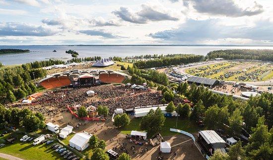 Joensuu, Finland: Festivaalialue, Ilosaarirock 2020. © Kalle Kervinen