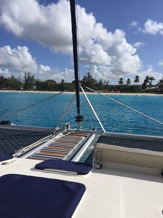 beautiful catamaran!