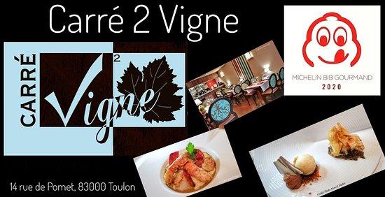 Restaurant Carré 2 Vigne à Toulon centre ville