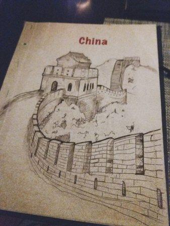 'China' Section of Tao's Menu.