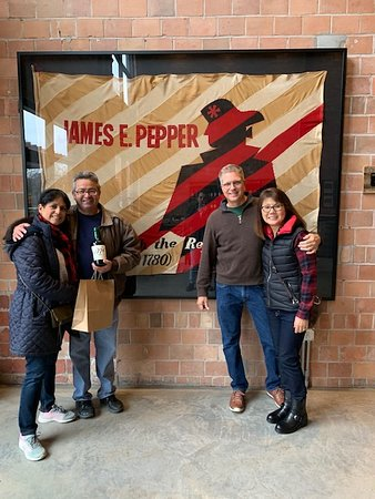 Guided Tour of James E. Pepper Distillery Ticket: First time visit