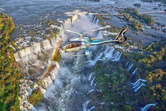 伊瓜蘇瀑布(帶有可選接送服務)全景直升機飛行