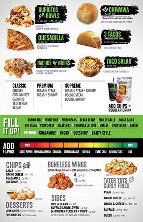 Hamilton Square, NJ: menu