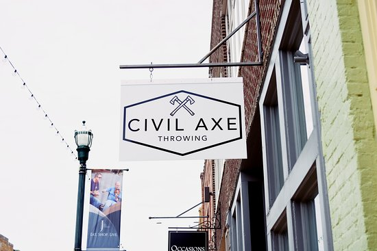 Civil Axe Throwing-Jonesboro