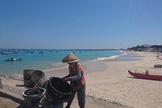 Bali tradisjonelle fiskemarked og Hopping Beach