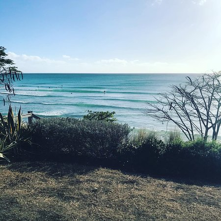 Barbados, Freight's Bay surfing lessons and surfboard rentals at Ride The Tide Surf School Barbados
