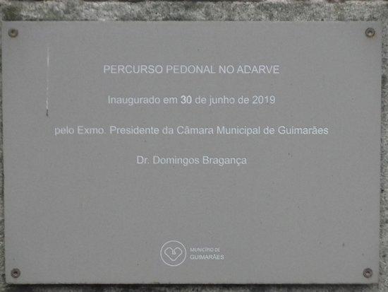 Percurso pedonal da Muralha de Guimaraes