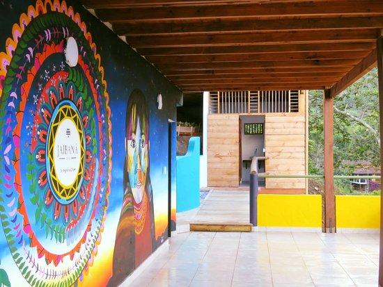 Tamesis, Kolumbien: Mural entre el Cielo y la Tierra en Jaibana Spa