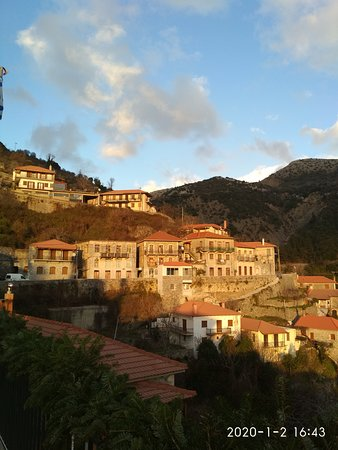Langadhia, Řecko: Όμορφο χωριό