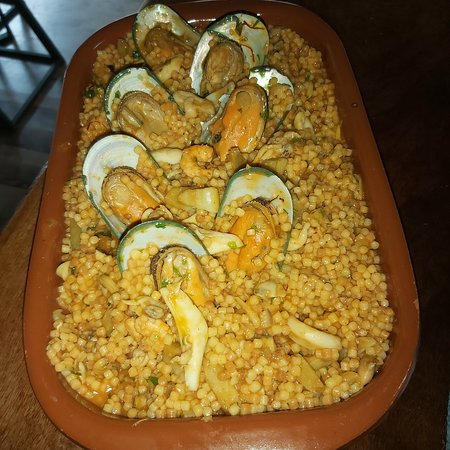 La Mivoie: Seafood Sardinian fregola