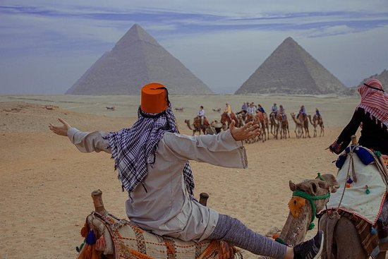 Full-Day Giza Pyramids og Cairo Tour