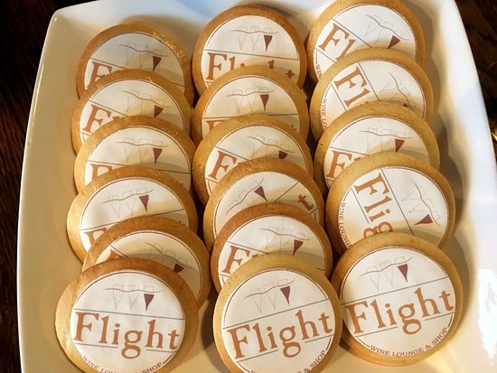 Logo cookies for our 1st anniversary