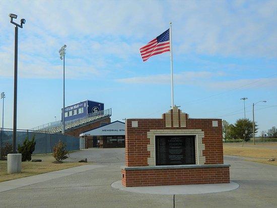ERPS Memorial Stadium World War 2 Monument